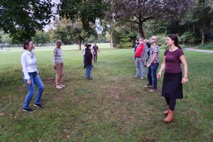 Dancing in the Westpark September 2020